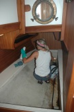 Aft cabin scrub