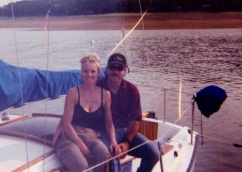 Sailboat on Grand Lake